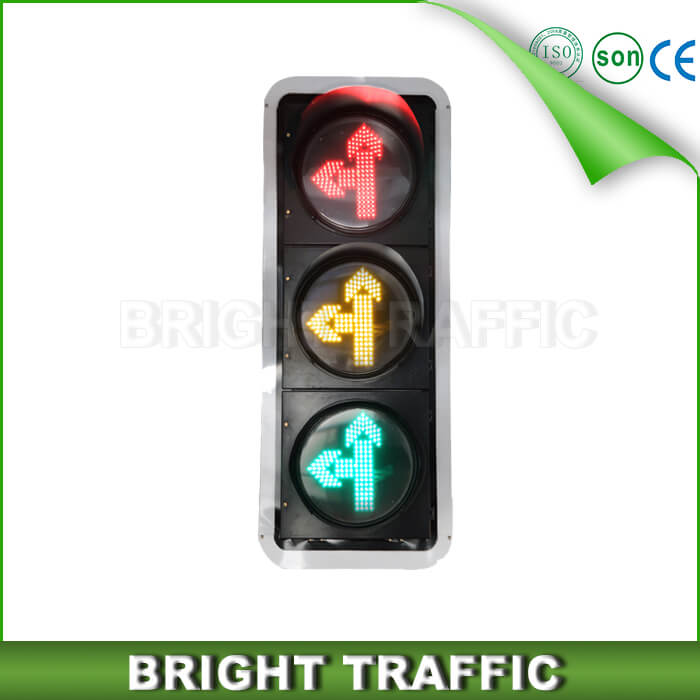 Go Straight and Left Turn Arrow LED Traffic Light