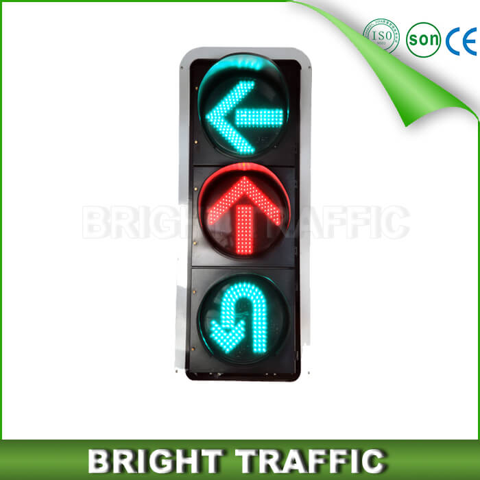400mm U type Arrow LED Traffic Light