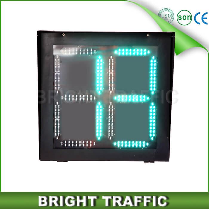 800 600mm Countdown Timer Led Traffic Signal Lights
