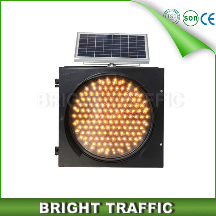 400mm solar warning light