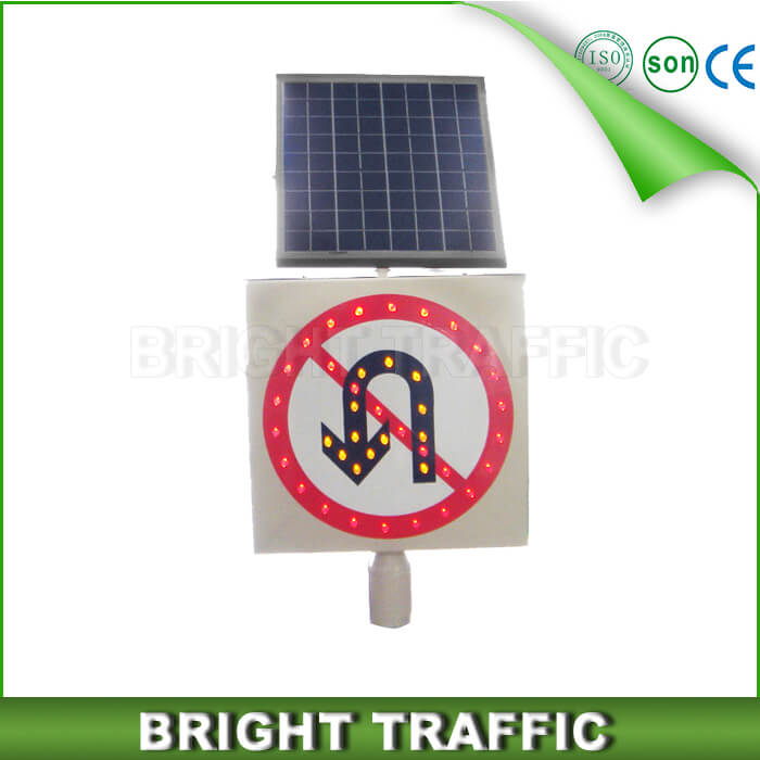 Solar LED Traffic Sign