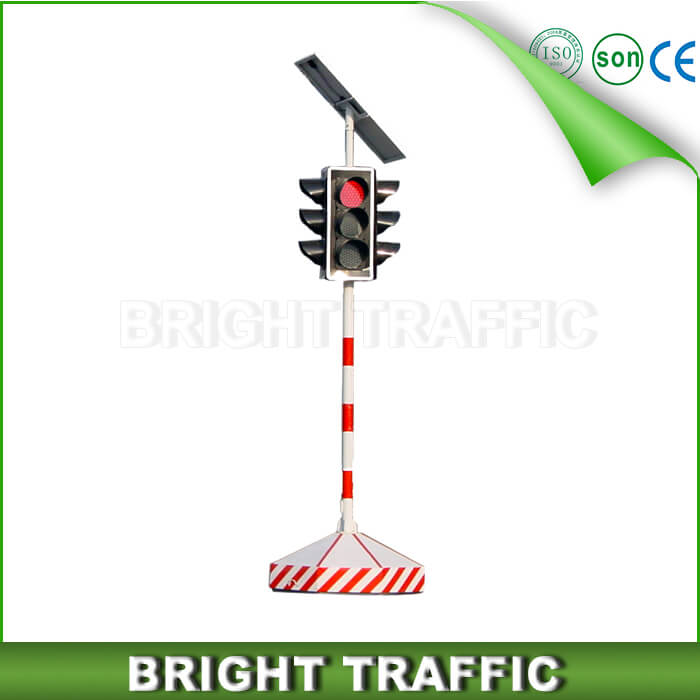 Solar LED Portable Traffic Signal Light