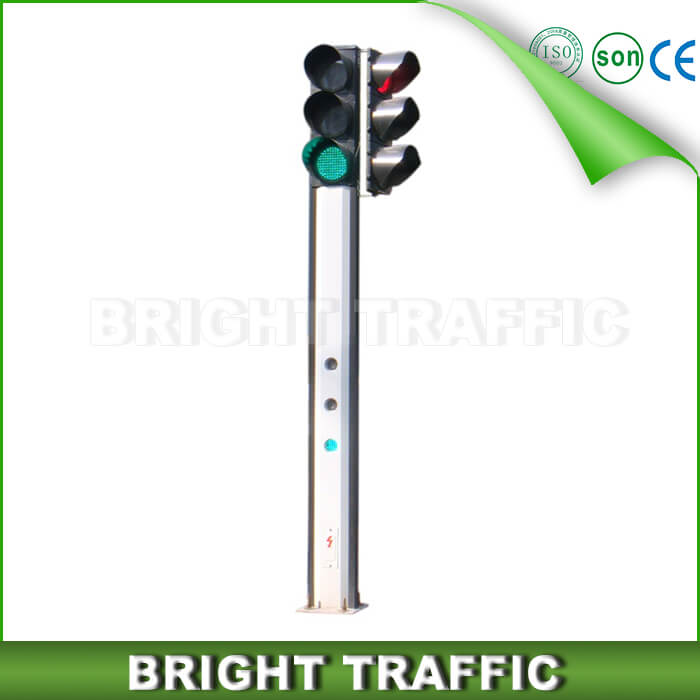 Two Sides Integrated Traffic Signal Light