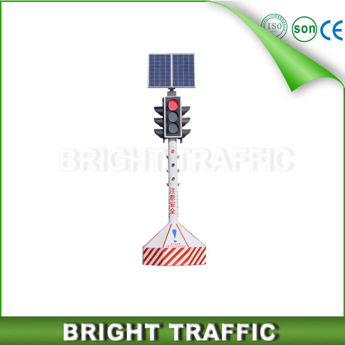 Solar Portable Traffic signal Light