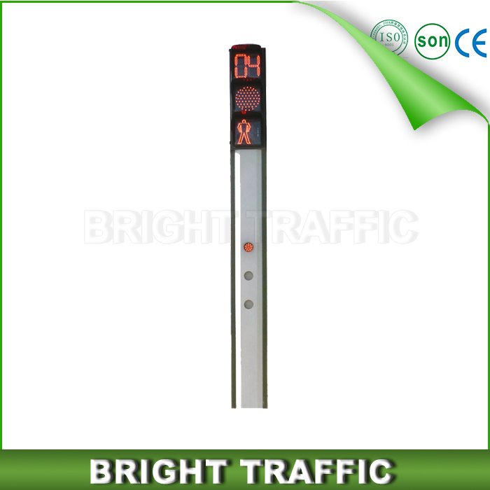 Integrated Traffic Signal Light With Countdown Timer