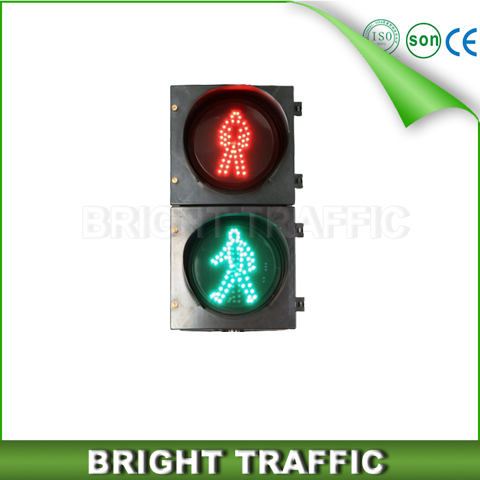 200mm LED Dynamic Pedestrian Traffic Light