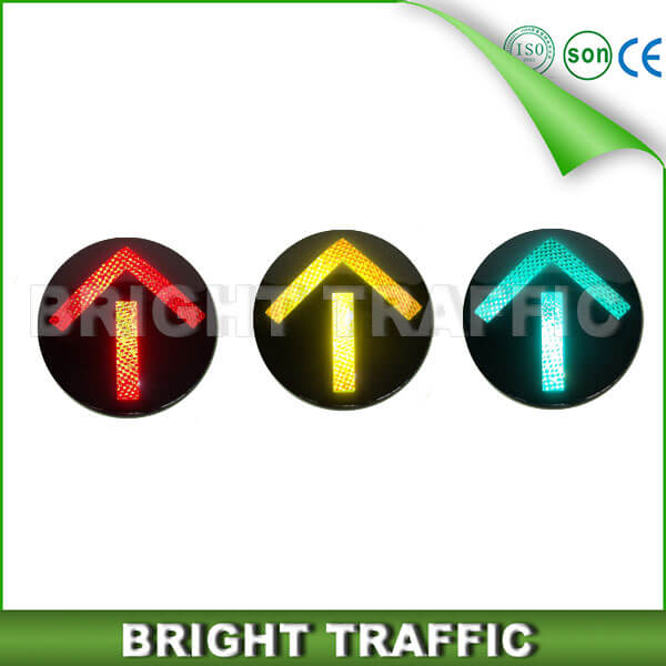 200mm High Power Arrow LED Traffic Light Core