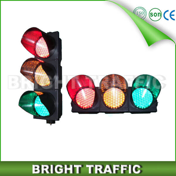 200mm RYG Cobweb Lens LED Traffic Light
