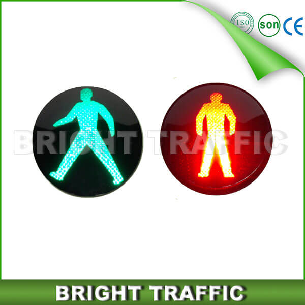 200mm High Power Pedestrian LED Traffic Light Core