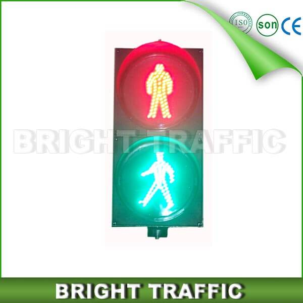 300mm Static Pedestrian Traffic Light