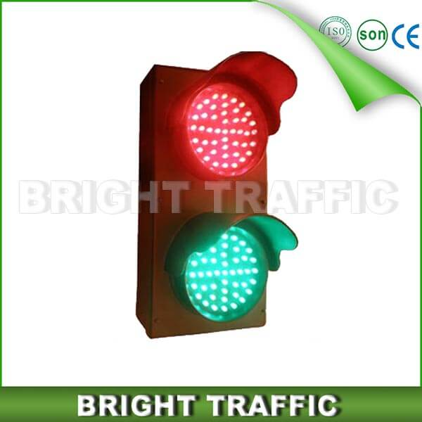100mm RG LED Traffic Light