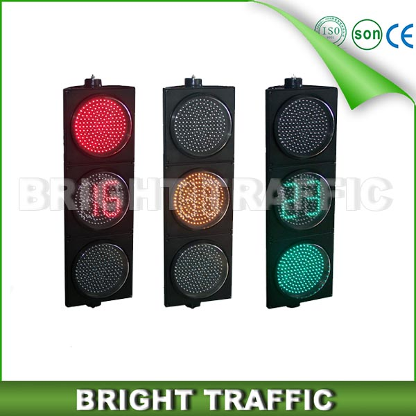 300mm LED Traffic Light With Countdown Timer
