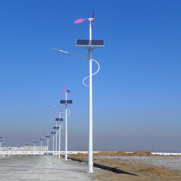 Solar Wind LED Street Light-8